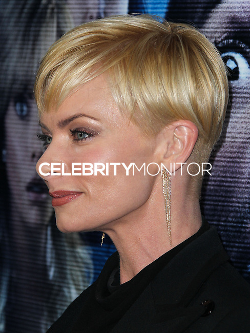"""LOS ANGELES, CA, USA - APRIL 16: Actress Jaime Pressly arrives at the Los Angeles Premiere Of Open Road Films' """"A Haunted House 2"""" held at Regal Cinemas L.A. Live on April 16, 2014 in Los Angeles, California, United States. (Photo by Xavier Collin/Celebrity Monitor)"""