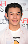 HOLLYWOOD, CA - NOVEMBER 04: Ryan Potter arrives at the premiere of 'Rise of the Guardians' during the 2012 AFI Fest presented by Audi at Grauman's Chinese Theatre on November 4, 2012 in Hollywood, California.