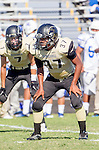 Palos Verdes, CA 09/13/13 - Julius Lagmay (Peninsula #37) in action during the Culver City vs Palos Verdes Peninsula High School Varsity Football game at Palos Verdes Peninsula HIgh School.