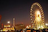 Amusement Rides stock Photo