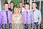 Pictured at the Kiskeam GAA social in the Dromhall Hotel on Saturday night were Jack O'Sullivan, Peter O'Keeffe, John, Denis, Tom and Kathleen O'Sullivan.......