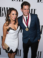 BEVERLY HILLS, CA, USA - MAY 13: Aijia Lise, Andy Grammer at the 62nd Annual BMI Pop Awards held at the Regent Beverly Wilshire Hotel on May 13, 2014 in Beverly Hills, California, United States. (Photo by Xavier Collin/Celebrity Monitor)