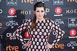 Pepa Charro attends red carpet of Goya Cinema Awards 2018 at Madrid Marriott Auditorium in Madrid , Spain. February 03, 2018. (ALTERPHOTOS/Borja B.Hojas)