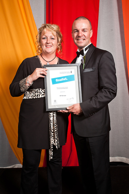 2010 Premiers Food Awards Dinner.Peats Soil and GArdens Supplies , Creating Sustainability, Finalists E P Storage,