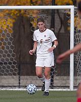 Boston College defender Alyssa Pember (6). Boston College defeated Marist College, 6-1, in NCAA tournament play at Newton Campus Field, November 13, 2011.