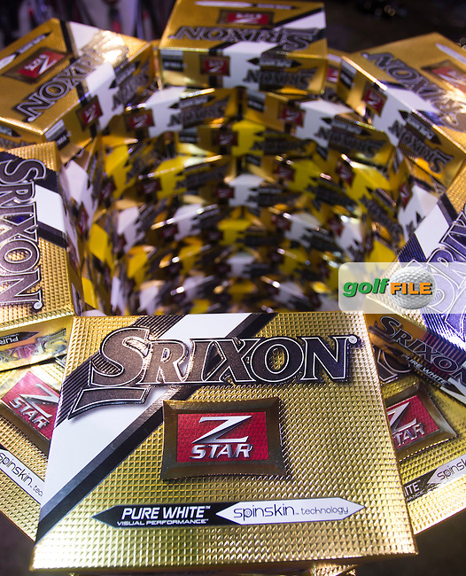 Part of the Srixon Exhibtion during the 2016 PGA Merchandise Show, from the Orange County Convention centre, Orlando, Florida. 26/1/16<br /> Picture: Mark Davison | Golffile<br /> <br /> <br /> All photos usage must carry mandatory copyright credit (&copy; Golffile | Mark Davison)