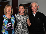 Mairead Kierans celebrating her 30th birthday in Brú with parents Joe and caroline. Photo:Colin Bell/pressphotos.ie