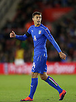 Italy's Alberto Grassi in action during the Under 21 International Friendly match at the St Mary's Stadium, Southampton. Picture date November 10th, 2016 Pic David Klein/Sportimage