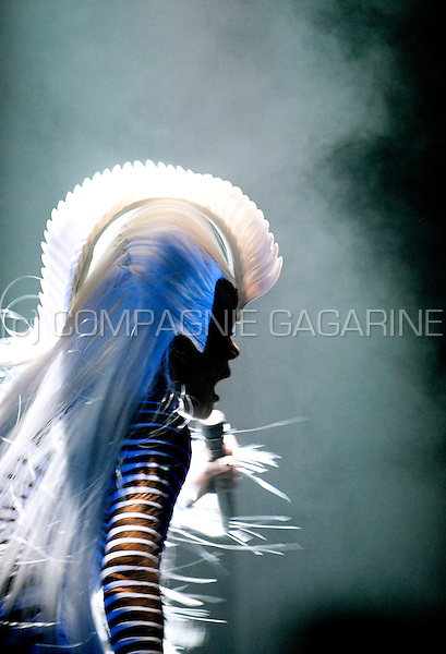 The premiere show of Grace Jones' new 2010 European concert tour in Utrecht (Holland, 13/04/2010)