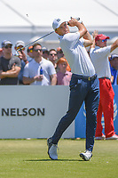 Jordan Spieth (USA) watches his tee shot on 2 during round 1 of the AT&T Byron Nelson, Trinity Forest Golf Club, at Dallas, Texas, USA. 5/17/2018.<br /> Picture: Golffile | Ken Murray<br /> <br /> <br /> All photo usage must carry mandatory copyright credit (© Golffile | Ken Murray)
