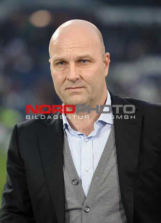 10.04.2015, HDI Arena, Hannover, GER, 1.FBL, Hannover 96 vs Hertha BSC, im Bild Dirk Dufner (Manager Hannover 96)<br /> <br /> Foto &copy; nordphoto / Frisch