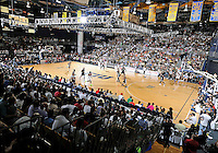The sold-out crowd at the South Florida All Star Classic held at FIU's U.S. Century Bank Arena, Miami, Florida. .