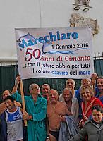 Il  tuffo per dare il benvenuto al nuovo anno nelle acque di Marechiaro, compie il suo cinquantesimo compleanno,