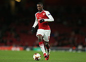 7th December 2017, Emirates Stadium, London, England; UEFA Europa League football, Arsenal versus BATE Borisov; Edward Nketiah of Arsenal on the ball