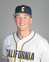 BERKELEY, CA - October 14, 2016: Jared Horn Cal Baseball Portraits