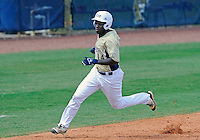 Florida International University outfielder Jabari Henry (14) plays against Florida Atlantic University. FAU won the game 9-3 on March 18, 2012 at Miami, Florida.