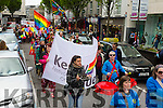 The Kerry Pride Parade through the Tralee Mall on Saturday