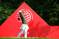 Satoshi Kodaira (JPN) on the 2nd  during the 1st round at the WGC HSBC Champions 2018, Sheshan Golf CLub, Shanghai, China. 25/10/2018.<br /> Picture Phil Inglis / Golffile.ie<br /> <br /> All photo usage must carry mandatory copyright credit (&copy; Golffile | Phil Inglis)