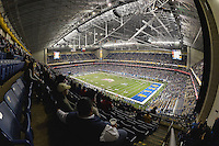 General View of the Alamodome during Alamo Bowl, Friday, January 02, 2015 in San Antonio, Tex. (Mo Khursheed/TFV Media via AP Images)