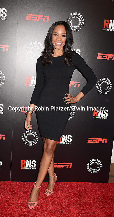 Cari Champion attends The Paley Center for Media's Annual Benefit Dinner honoring ESPN' s 35th Anniversary on May 28, 2014 at 583 Park Avenue in New York City, NY, USA.
