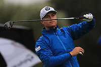 Calum Hill (SCO) on the 10th tee during Round 4 of the Challenge Tour Grand Final 2019 at Club de Golf Alcanada, Port d'Alcúdia, Mallorca, Spain on Sunday 10th November 2019.<br /> Picture:  Thos Caffrey / Golffile<br /> <br /> All photo usage must carry mandatory copyright credit (© Golffile | Thos Caffrey)