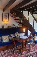 Royaume-Uni, îles Anglo-Normandes, île de Sark (Sercq) : Hôtel-Restaurant: La Sablonnerie    sur Little Sark aprés la Coupée , détail d'une chambre // United Kingdom, Channel Islands, Sark Island (Sercq): Hotel-Restaurant: La Sablonnerie - Elizabeth Perree