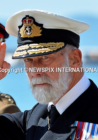 PRINCE MICHAEL OF KENT<br /> conducted a military working visit to Gibraltar during the Trafalgar Remembrance weekend_18/10/2014In his capacity as Commodore-in-Chief of the Maritime Reserve and as an Honorary Rear Admiral, HRH attended a Trafalgar Dinner Night at the Gibraltar Officers Mess, a Church Service at Kings Chapel and the Trafalgar Remembrance Service which was held in the Trafalgar Cemetery.Mandatory Credit Photo: &copy;Crown Copyright/NEWSPIX INTERNATIONAL<br /> <br /> **ALL FEES PAYABLE TO: &quot;NEWSPIX INTERNATIONAL&quot;**<br /> <br /> IMMEDIATE CONFIRMATION OF USAGE REQUIRED:<br /> Newspix International, 31 Chinnery Hill, Bishop's Stortford, ENGLAND CM23 3PS<br /> Tel:+441279 324672  ; Fax: +441279656877<br /> Mobile:  07775681153<br /> e-mail: info@newspixinternational.co.uk