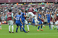 Angelo Ogbonna of West Ham heads clear during West Ham United vs Everton, Premier League Football at The London Stadium on 13th May 2018