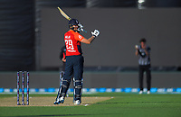 England's Dawid Malan during the 4th Twenty20 International cricket match between NZ Black Caps and England at McLean Park in Napier, New Zealand on Friday, 8 November 2019. Photo: Dave Lintott / lintottphoto.co.nz