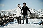 Ryan & Kara Niessen of Austin, Texas came to Anchorage to get married.