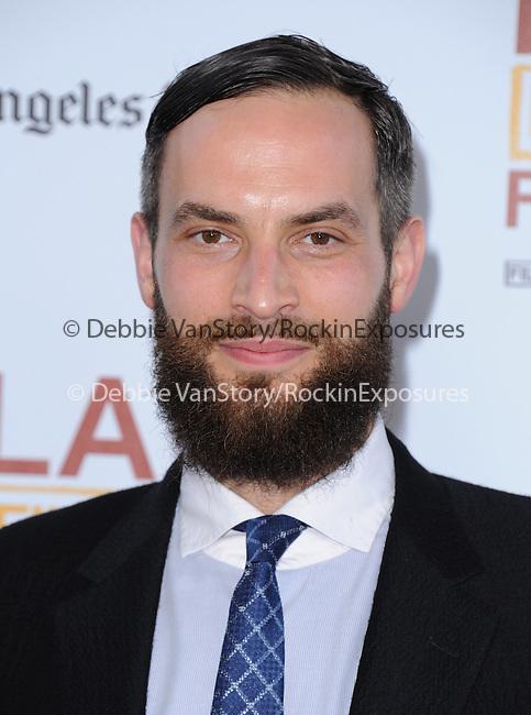 Sandro Kopp attends The LOS ANGELES FILM FESTIVAL Opening Night Gala: SNOWPIERCER held at Regal Cinemas  in Los Angeles, California on June 11,2014                                                                               © 2014 Hollywood Press Agency