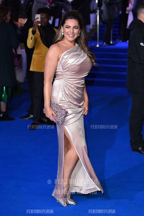 LONDON, UK. December 12, 2018: Kelly Brook at the UK premiere of &quot;Mary Poppins Returns&quot; at the Royal Albert Hall, London.<br /> Picture: Steve Vas/Featureflash