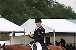 Jonathan Paget riding Clifton Lush during the dressage phase of the 2012 Land Rover Burghley Horse Trials in Stamford, Lincolnshire
