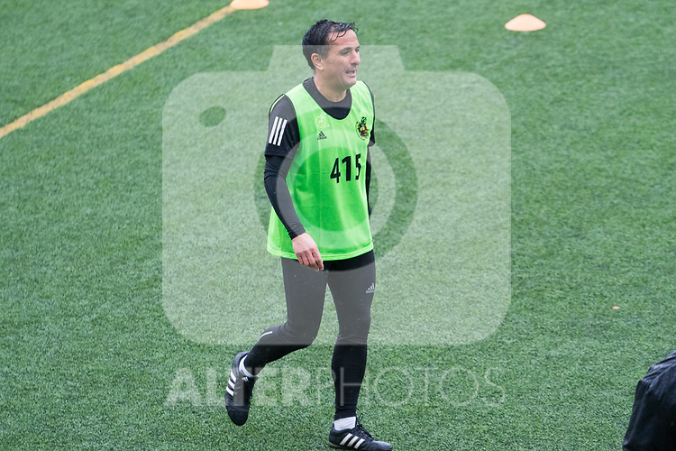 Referees of La Liga during the physical tests in Madrid