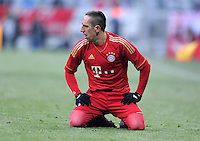 FUSSBALL   1. BUNDESLIGA  SAISON 2011/2012   21. Spieltag FC Bayern Muenchen - 1. FC Kaiserslautern       11.02.2012 Franck Ribery (FC Bayern Muenchen)