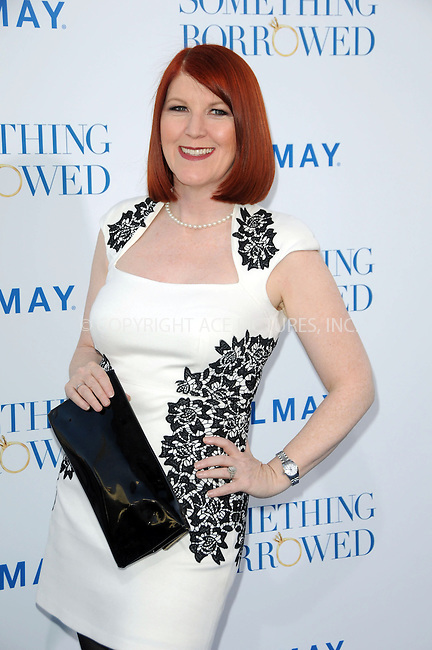WWW.ACEPIXS.COM . . . . .  ....May 3 2011, Los Angeles....Actress Kate Flannery arriving at the premiere of  'Something Borrowed' at Grauman's Chinese Theatre on May 3, 2011 in Hollywood, California....Please byline: PETER WEST - ACE PICTURES.... *** ***..Ace Pictures, Inc:  ..Philip Vaughan (212) 243-8787 or (646) 679 0430..e-mail: info@acepixs.com..web: http://www.acepixs.com