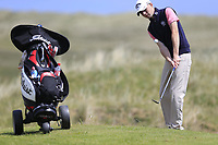 Reece Black (Hilton Templepatrick Golf Club) during the 1st round of the East of Ireland championship, Co Louth Golf Club, Baltray, Co Louth, Ireland. 02/06/2017<br /> Picture: Golffile | Fran Caffrey<br /> <br /> <br /> All photo usage must carry mandatory copyright credit (&copy; Golffile | Fran Caffrey)
