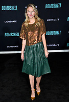 "LOS ANGELES, USA. December 11, 2019: Brianna Barnes at the premiere of ""Bombshell"" at the Regency Village Theatre.<br /> Picture: Paul Smith/Featureflash"