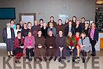 staff and priests from the Friary in Killarney celebrated their year in the Killarney Oaks Hotel on Friday nigh