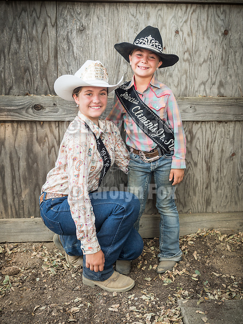 Opening day 78th Amador County Fair, Plymouth, Calif.<br /> <br /> Mutton Bustin' <br /> <br /> Little rodeo queens