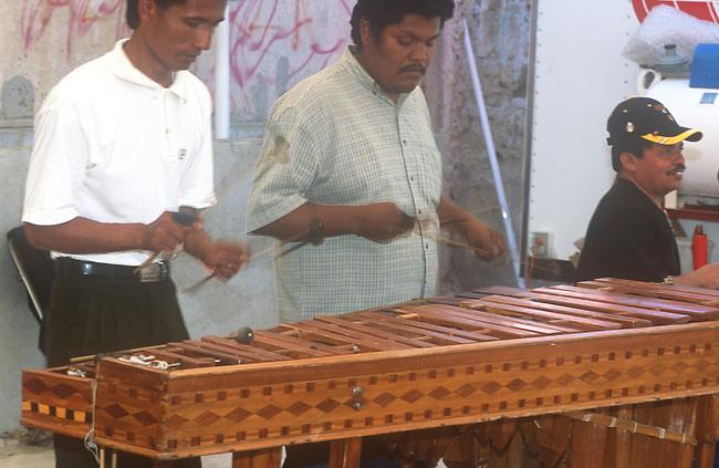 Muscian, Oaxaca City, Oaxaca, Mexico
