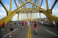 Pittsburgh Marathon 2012..Jared Wickerham/For the Pittsburgh Marathon.