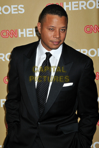 TERRENCE HOWARD.CNN Heroes: An All-Star Tribute 2008 at the Kodak Theatre, Hollywood, CA, USA..November 22nd, 2008.half length black suit jacket terence .CAP/ADM/BP.©Byron Purvis/AdMedia/Capital Pictures.