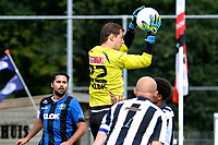ASSEN - Voetbal - ACV - Hercules, KNVB beker, seizoen 2017-2018, 19-08-2017, Doleman Bart Woering klemvast