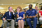 Candidate For Governor In Florida Andrew Gillum Campaigns at the Century Village Pines Jewish Center