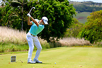 Javier Colomo (ESP) in action during the second round of the Afrasia Bank Mauritius Open played at Heritage Golf Club, Domaine Bel Ombre, Mauritius. 01/12/2017.<br /> Picture: Golffile | Phil Inglis<br /> <br /> <br /> All photo usage must carry mandatory copyright credit (&copy; Golffile | Phil Inglis)