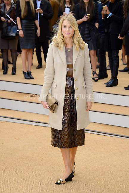 WWW.ACEPIXS.COM<br /> <br /> US Sales Only<br /> <br /> September 16 2013, London<br /> <br /> Donna Air arriving at the Burberry Prorsum show at London Fashion Week SS14 at Kensington Gardens on September 16, 2013 in London, England<br /> <br /> ACE Pictures, Inc.<br /> tel: 646 769 0430<br /> Email: info@acepixs.com<br /> www.acepixs.com