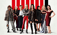 Ocean's 8 (2018) <br /> (Ocean's Eight)<br /> Promotional art with Rihanna, Awkwafina, Helena Bohan Carter, Cate Blanchett, Sandra Bullock, Mindy Kaling &amp; Sarah Paulson And Anne Hathaway<br /> *Filmstill - Editorial Use Only*<br /> CAP/MFS<br /> Image supplied by Capital Pictures