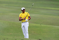 Pavit Tangkamolprasert (THA) in action on the 10th during Round 2 of the Maybank Championship at the Saujana Golf and Country Club in Kuala Lumpur on Friday 2nd February 2018.<br /> Picture:  Thos Caffrey / www.golffile.ie<br /> <br /> All photo usage must carry mandatory copyright credit (&copy; Golffile | Thos Caffrey)