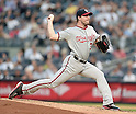 Max Scherzer (Nationals), JUNE 9, 2015 - MLB : Washington Nationals pitcher Max Scherzer throws the ball during a baseball game against the New York Yankees at Yankee Stadium in New York, United States. (Photo by AFLO)